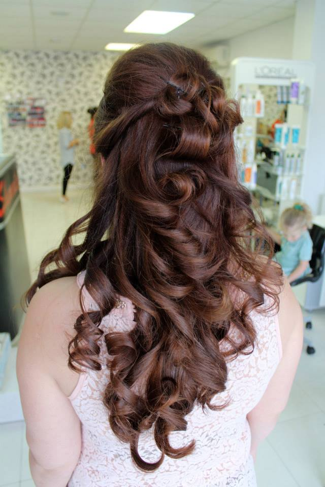 Asian Bridal Hairstyle - www.shumailas.com