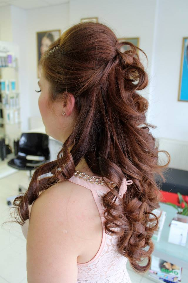 Hair Style For Party Asian Bridal Hairstyle  Www.shumailas