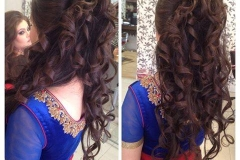 half-up-half-down-curls-reception-registry-engagement-salon-london-ilford-essex
