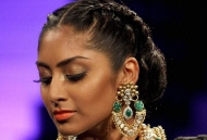 braided-bun-indian-bridal-hairstyle-east-london-essex