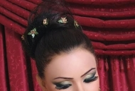 messy-chignon-bun-indian-bridal-hairstyle-east-london-essex