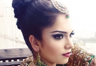 high-bun-indian-bridal-hairstyle-east-london-essex