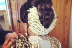hairstyle-with-gajra