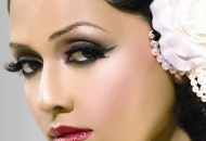 asian bridal make-up modern