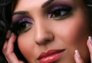 bridal-makeup-purple-green