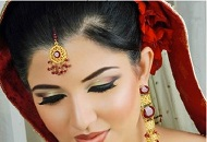 ombre dip dye make-up asian bridal east london essex