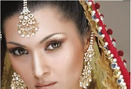 bronze gold asian bridal wedding look east london essex