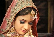 blue pink asian bridal make-up look east london essex