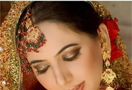 copper gold asian bridal makeup east london essex