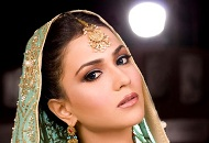 simple asian bridal wedding make-up east london essex