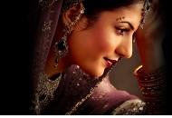 purple gold asian bridal make-up east london essex