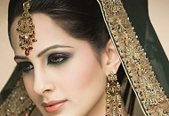 smoky eye asian bridal makeup east london essex