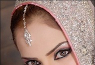 pink silver asian bridal makeup east london essex