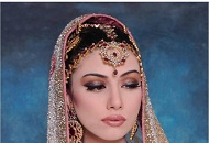 brown neutral heavy asian bridal make-up east london essex