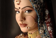 traditional brown gold asian bridal makeup east london essex