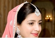 pink peach simple traditional asian bridal makeup east london essex