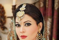 blue eyes red lips asian bridal make-up east london essex