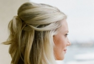princess curls hairstyle dreamy waves wedding