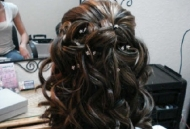 defined spiral curls hairstyle open hair bride