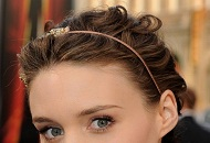 laid back messy hairstyle hairdo occasion wedding