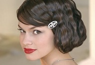 pin up look hairstyle vintage inspired