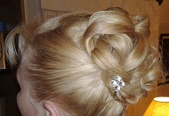 english wedding traditional hairstyle updo bun