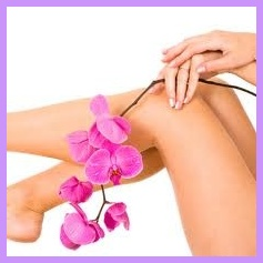 Waxing : Smooth, silky, baby soft skin after Waxing
