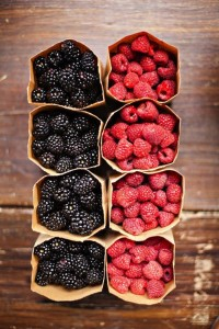 how to detox Berries to naturally move, cleanse and trigger the lymph for glowing skin