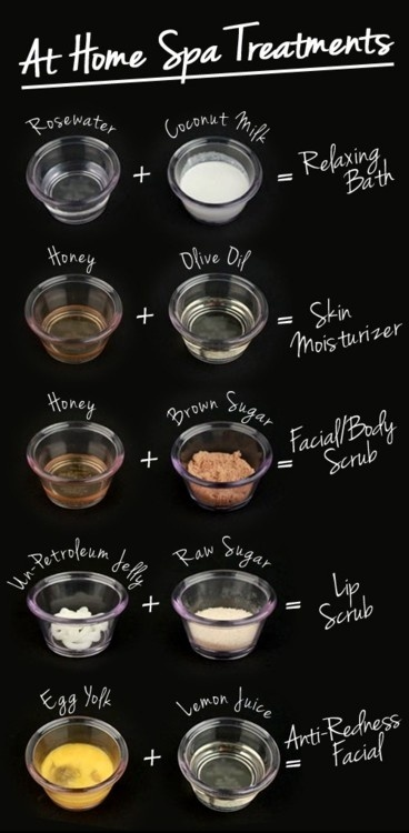 At home facial treatment recipes for dry and oily skin