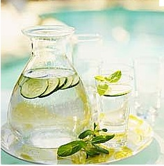 Sassy Water/Lemon Water to detoxify skin how to detox