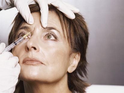 Botox anti-ageing treatment for older women