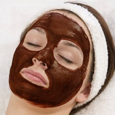 chocolate for DIY face mask