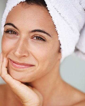 CACI face lift skin treatment