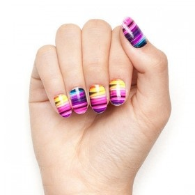 spring beauty trends nail wraps