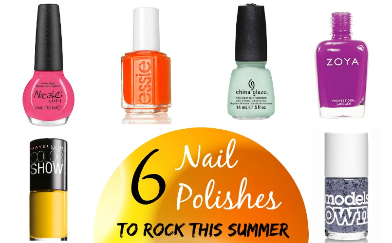 6 Nail Polishes To Rock This Summer
