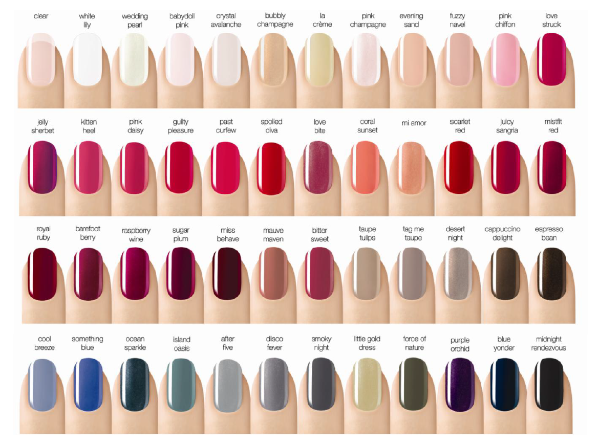 Perfect Best Nail Polish Colors For Fall 2015 Frieze - Nail Art ...
